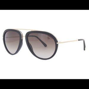 Women's Tom Ford Stacy black matte sunglasses